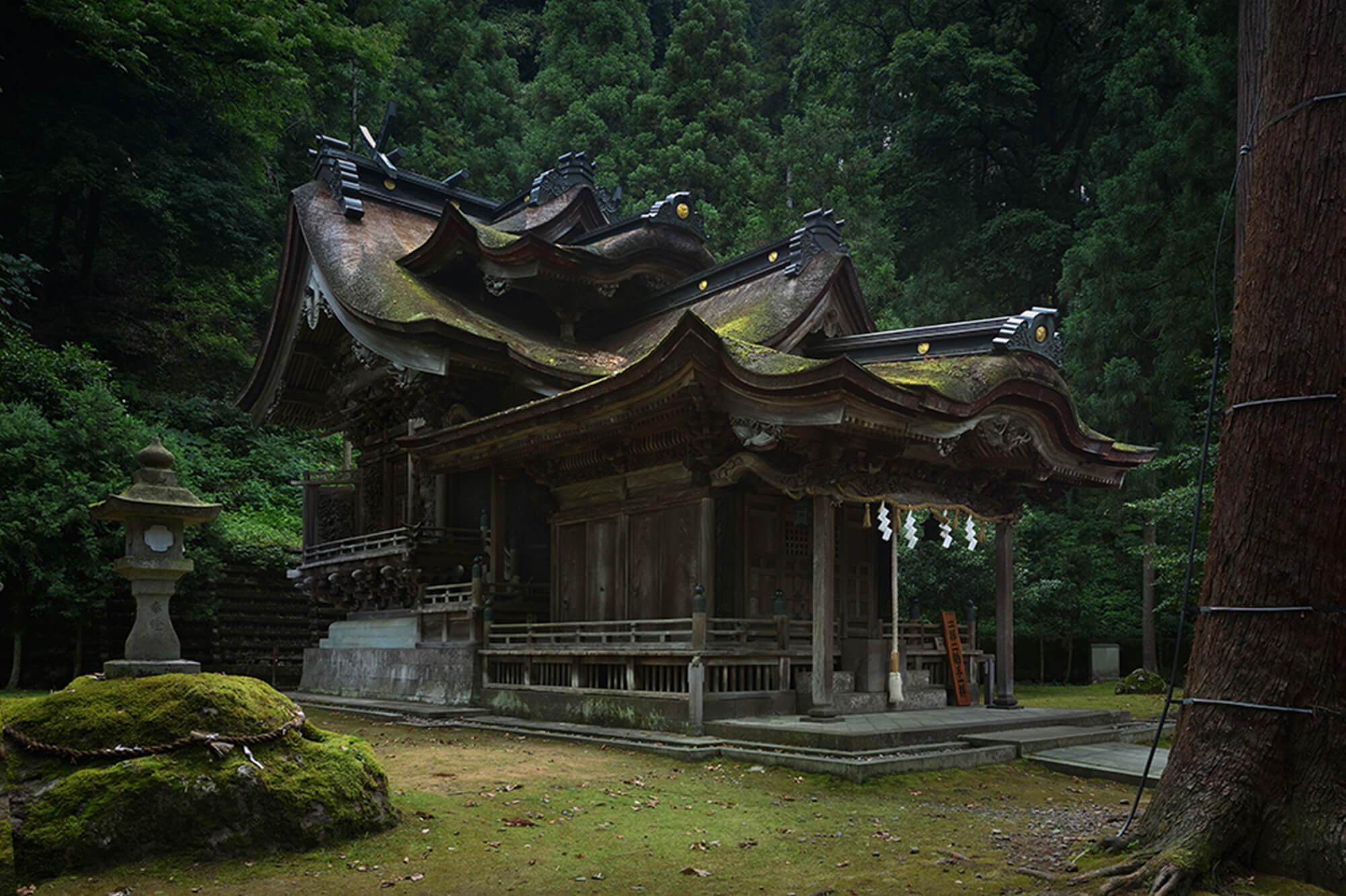 岡太神社・大瀧神社